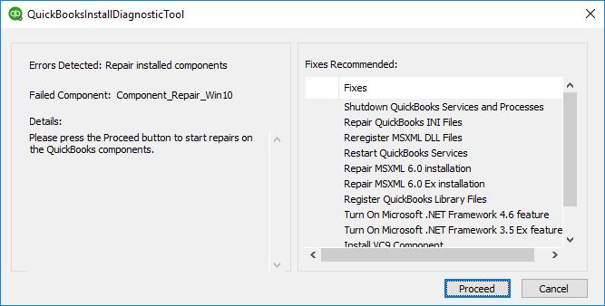Download QuickBooks Installation Diagnostic Tool - Screenshot
