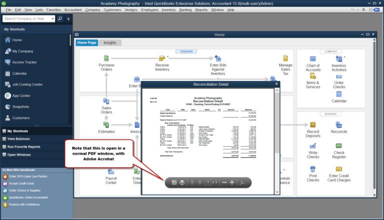 quickBooks connection diagnostic tool - Screenshot
