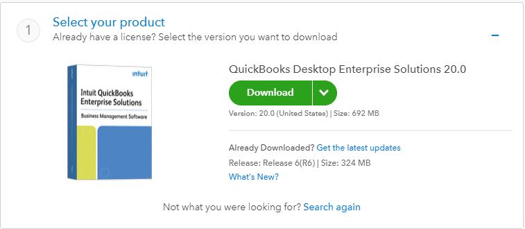 Download QuickBooks enterprise solutions
